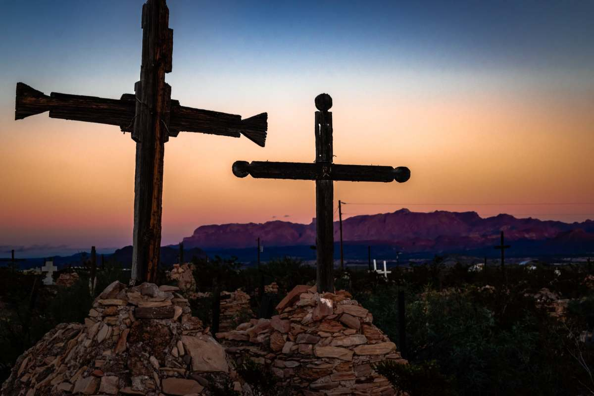 Terlingua and Lajitas - A Tale of Two Cemeteries